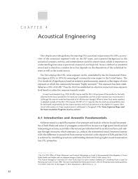 Acoustical Engineering Chapter 4 Acoustical Engineering Guidelines For Airport Sound