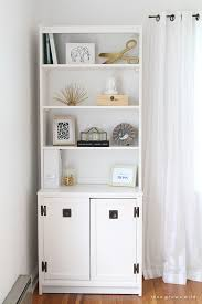 white office bookcase. Outdated Office Furniture Transformed Into A Sleek, Sophisticated Storage System! Classic Black And White Bookcase }