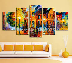 canvas wall art sets abstract