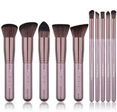 makeup brushes qivange synthetic kabuki makeup brush set foundation blush powder eyeshadow blending brushes cosmetic