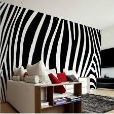 papel de parede black and white fashion zebra custom wallpaper mural wallpaper mural large modern bedroom living room backdrop black white zebra bedrooms