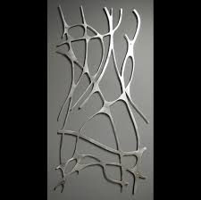 pretty looking aluminum wall art home decor ideas nouveau web no 1 in brushed sculpture moda uk artwork