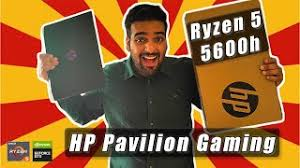 HP Pavilion Gaming Review 🔥 Ryzen 5 5600h | GTX 1650 ⚡ Unboxing 🔥 Best  Gaming Laptop under 60k - YouTube