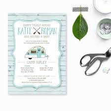 Baby Shower Or Baby Birthday Invitation Camping By KelliMurrayArt Camping Themed Baby Shower Invitations