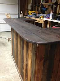 Rustic Bar Top Pallet Bar For Backyard Wedding 4x8 Plywood Pallets And Plywood
