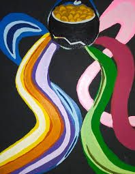 Pot Of Gold Painting by Jeannette Smith