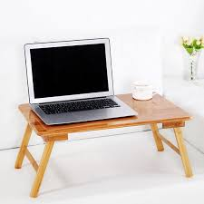 2020 bamboo computer stand laptop desk