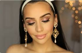 carli bybel rose gold full face makeup rose gold makeup tutorial perfect for any season