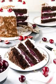 Black Forest Cake Recipe Sugar And Soul