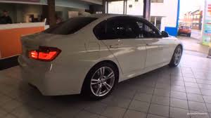 BMW 3 Series bmw 3 series in white : BMW 3 SERIES 320D M SPORT WHITE 2015 - YouTube