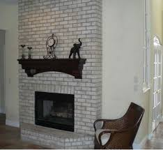 eendag favored white mantel also brick wall panels as favored black and white brick fireplace white