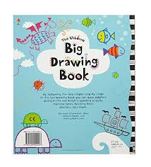 big drawing book usborne drawing doodling and colouring amazon co uk fiona watt josephine thompson caroline day 9781409550297 books