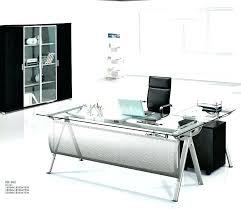 glass office furniture executive glass office desk modern executive glass computer desk l shaped metal office glass office furniture