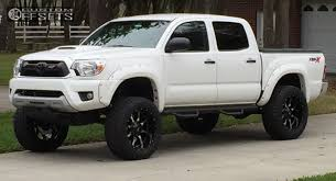 toyota trucks 2014 lifted. Contemporary Lifted 1 2014 Tacoma Toyota Suspension Lift 6 Moto Metal Mo970 Machined  Accents Aggressive Outside Fender For Trucks Lifted
