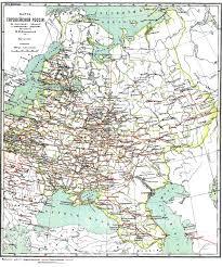 a map of european russiaby ium shokal'skii c   the core