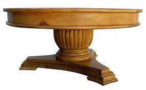 coffee table pedestal base fluted pedestal base round coffee table mortise tenon a wooden pedestal coffee