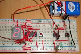 segment display counter circuit using ic timer ic 7 segment display counter using ic 555 timer ic