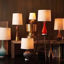 west elm rejuvenation mid century wood table lamp um west elm