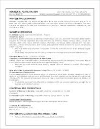 Best Nurse Resume Travel Nurse Resume Joefitnessstore Com