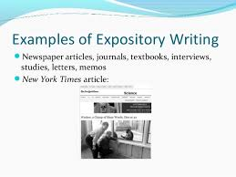 english expository writing examples of expository writing