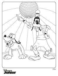 Goofy En Pluto Kleurplaat Jouwkleurplaten