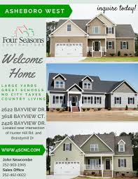 four seasons contractors blog four seasons contractors 252 the asheboro west subdivision is located in stoney creek outside the city limits of rocky mount at the intersection of hunter hill rd and brandymill and