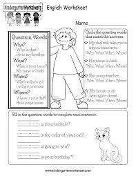 Excel. worksheets for kindergarten english: English Worksheet ...