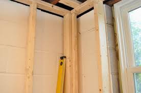 framing an exterior wall corner. Luxury Idea How To Frame A Exterior Wall Finishing Basement Day 1 Framing The Walls One Project Closer Save Corner Long An
