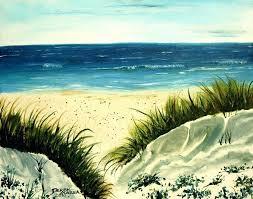 beach oil painting beach painting beach sand dunes acrylic painting by beach oil painting tutorial