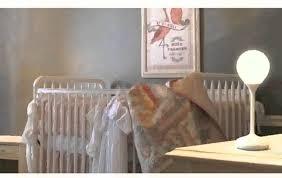 cute baby nursery floor lamps baby room decor idea using white crib and cozy bedding