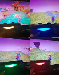 Why Is My Ps4 Controller Light Red The Light On The Back Of The Ps4 Controller Changes To Match