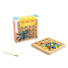 Wooden Strategy Games Tic Tac Two Strategy Game ToysRUs 69