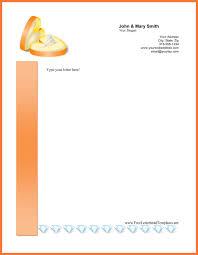 free personal letterhead personal letterhead bio letter sample