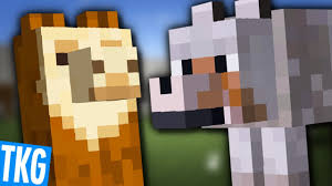 Image result for llama vs wolf minecraft