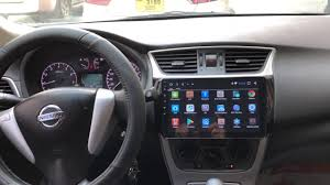 Nissan Sentra 2013-2018 Before & After Installation <b>Android</b> Full ...