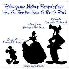 Disneyland Park Attraction Height Requirements