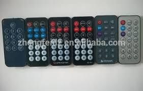 mini 7 13 21 keys mp3 car radio remote control cr2025 button battery car stereo remote control xdm270 at Car Stereo Remote Control