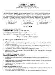 Teacher Resume Objective Awesome Resume Templates Teacher Sample Teacher Resume Templates Sample