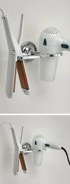 Combination Flat Iron & Blow Dryer Holder