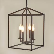Odie Light Odie 4 Light Lantern Square Pendant