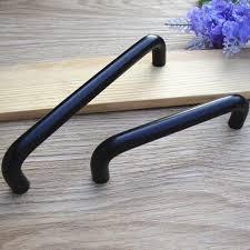 matte black cabinet pulls. Modern Simple Kitchen Cabinet Handle Matte Black Cupboard Pull 96mm Drawer Dresser Wardrobe Furniture Handles Pulls Knobs-in From Home R