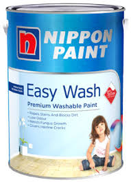 washable paint for wallsInterior Wall Paint  Easy Wash with Teflon