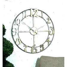 large outdoor clocks oversized outdoor wall clocks large outdoor clocks for walls s large outdoor wall