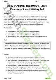 persuasive speech writing task teaching resource teach starter persuasive speech writing task teaching resource