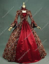 ball gown costume. victorian renaissance gothic dress ball gown theater reenactment costume 138b e