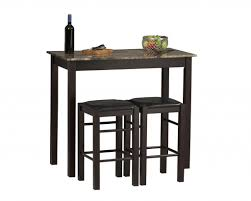 Dining Sets For Small Kitchens Furniture Uniquely Wonderful Small Two Chairs Dining Set For A