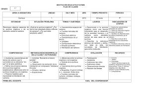planeamiento de clases 3 plan de clases