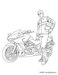 92 Dessins De Coloriage Moto Cross Imprimer