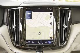 2018 volvo manual transmission. perfect 2018 the 2018 volvo xc60u0027s infotainment module showing off its navigation  feature intended volvo manual transmission