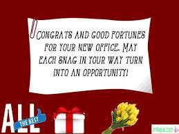 congrats on the new job quotes congratulations messages for new office opening wishes quotes